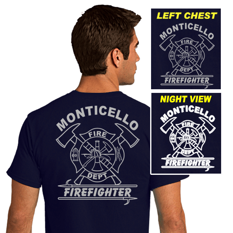 Fire Department Reflective Shirts (DD-FDREF2)