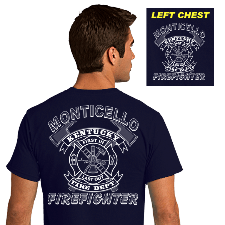 Fire Department Duty Shirts (DD-FDRIB), Duty Shirts, dovedesigns.com, Dove Designst-shirts, shirts, hoodies, tee shirts, t-shirt, shirts