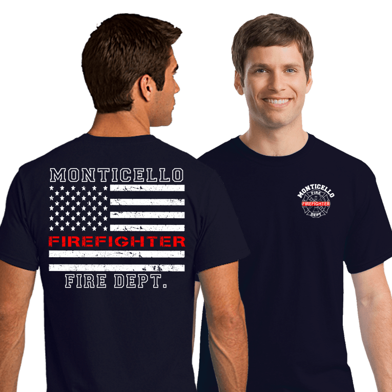 Fire Department Duty Shirts (DD-FDTRL) | Dove Designs