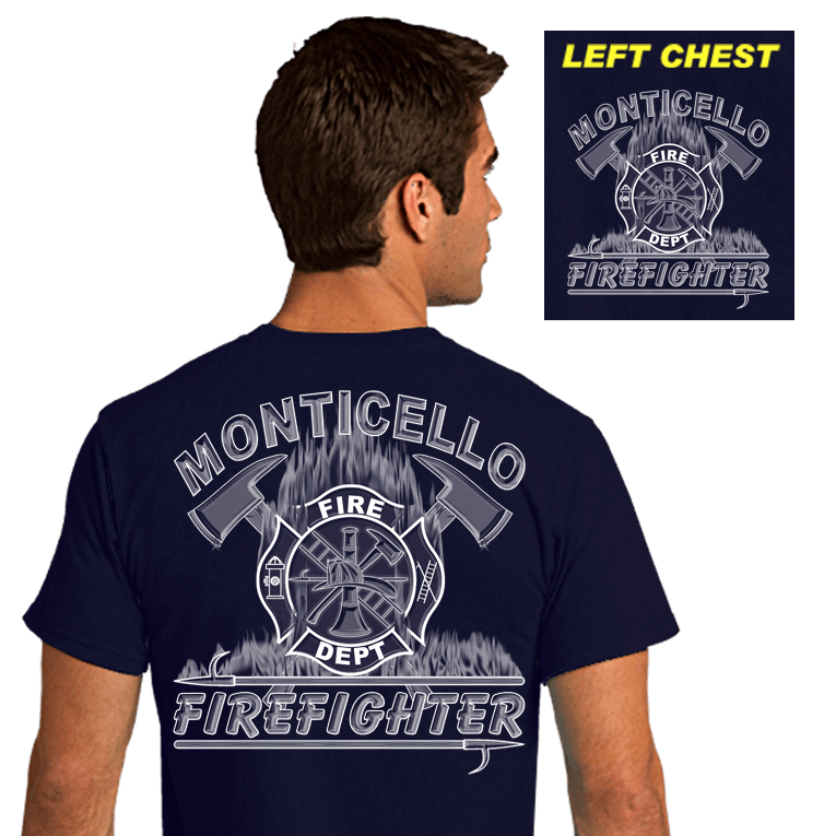 Fire Department Duty Shirts (DD-FLAME), Duty Shirts, dovedesigns.com, Dove Designst-shirts, shirts, hoodies, tee shirts, t-shirt, shirts