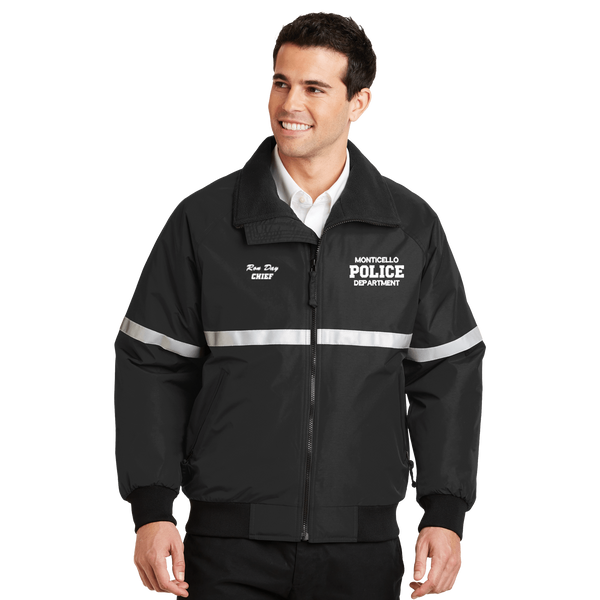 Law Enforcement Reflective Duty Jacket (DD-PJACR) No Minimum Required, Embroidery, dovedesigns.com, Dove Designst-shirts, shirts, hoodies, tee shirts, t-shirt, shirts