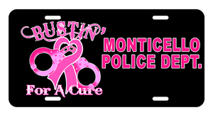 License Plate (DD-LPLAWBUST) Cops for a Cure, Signs & Decals, Signs2c, Dove Designst-shirts, shirts, hoodies, tee shirts, t-shirt, shirts