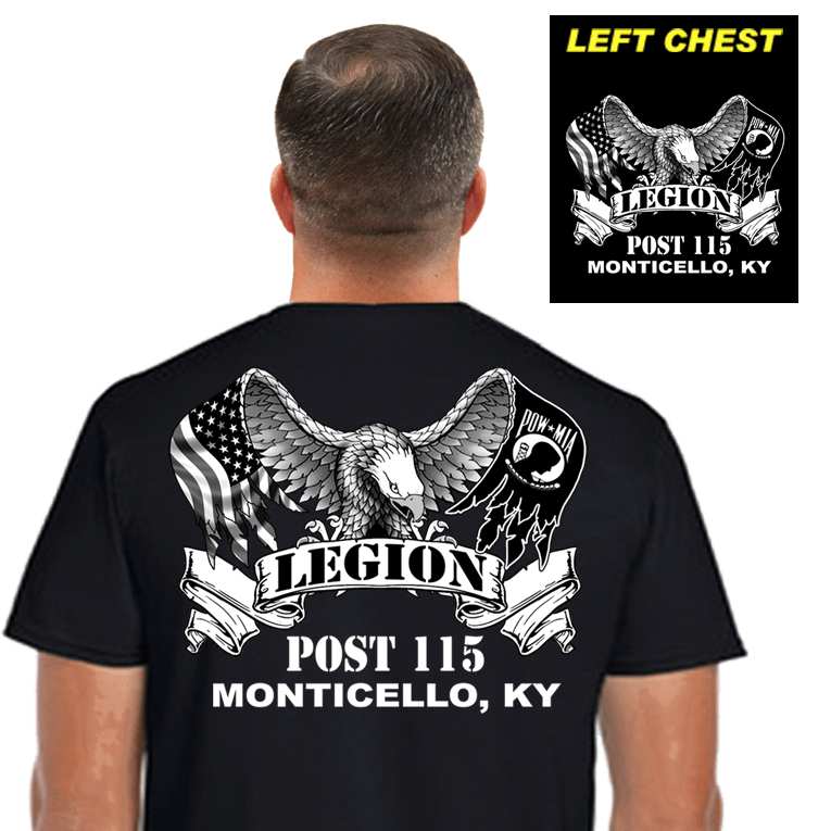 Legion Post Shirts (DD-POST2) Black