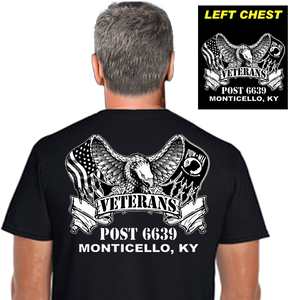 Veterans Post Shirts (DD-POST2) Black, Post Shirts, dovedesigns.com, Dove Designst-shirts, shirts, hoodies, tee shirts, t-shirt, shirts