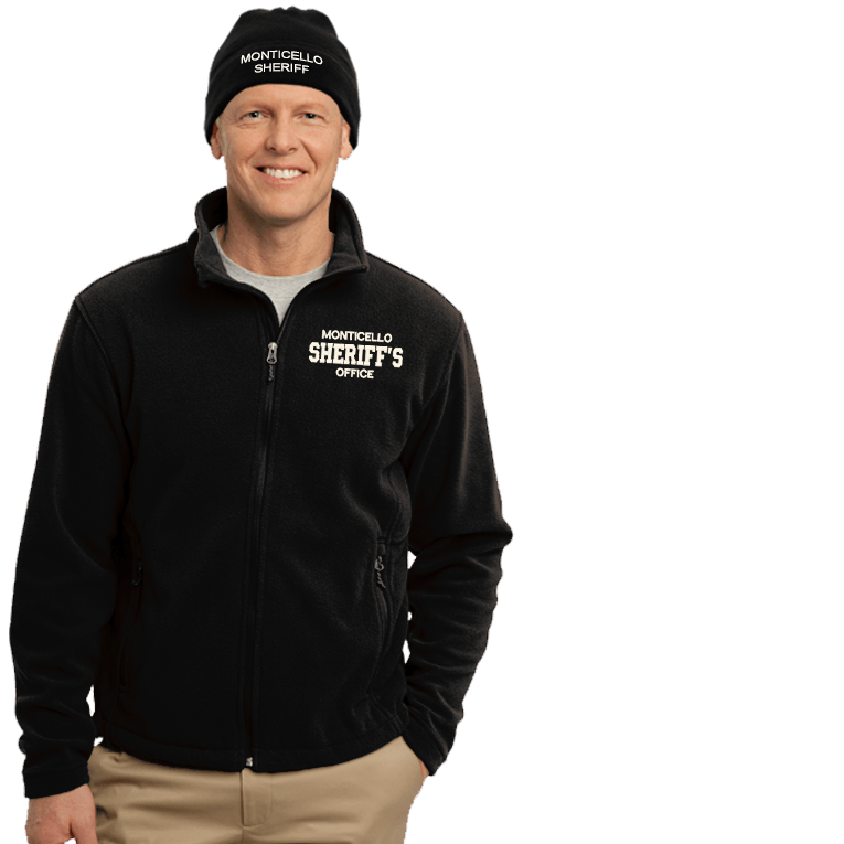 Sheriff S Office Embroidered Jacket Beanie Combo Dove Designs