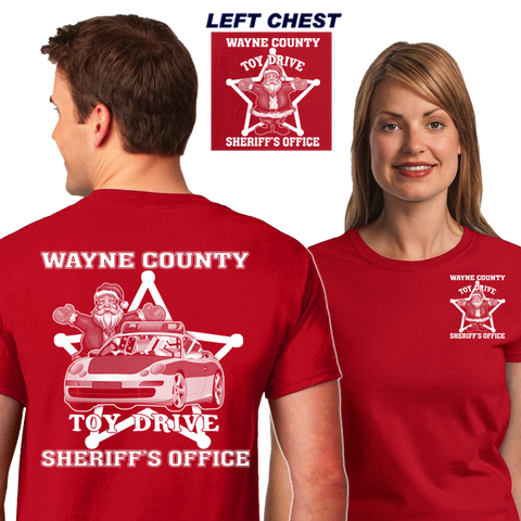 Sheriff's Dept Toy Drive Shirts (DD-SOTOYDR), Awareness Shirts, Dove Designs, Dove Designst-shirts, shirts, hoodies, tee shirts, t-shirt, shirts