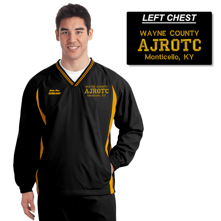 JROTC Embroidered Windbreaker (DD-WBJROTC)