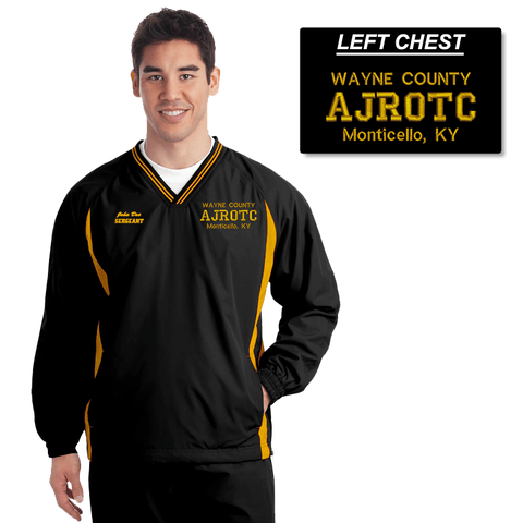 JROTC Embroidered Windbreaker (DD-WBJROTC), Embroidery, dovedesigns.com, Dove Designst-shirts, shirts, hoodies, tee shirts, t-shirt, shirts