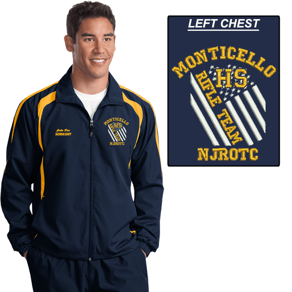 JROTC Embroidered RIFLE TEAM Wind Jacket (DD-WJRIFLEFL) SOLD SEPARATELY, Embroidery, dovedesigns.com, Dove Designst-shirts, shirts, hoodies, tee shirts, t-shirt, shirts