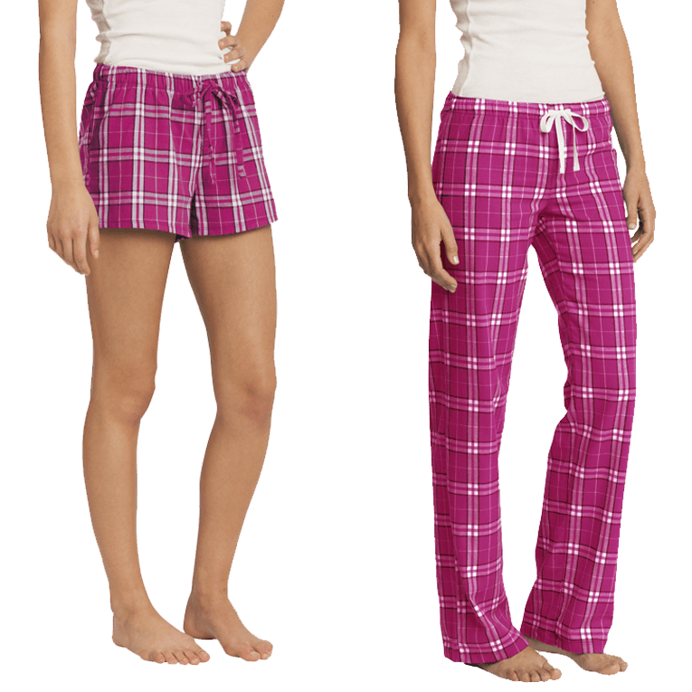 WOMEN'S PLAID SLEEPWEAR