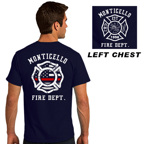 Fire Department Duty Shirts (DD-FLMAL)