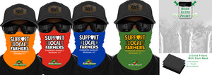 Farmers & Dairy GaiterSaver Filtered Neck Gaiter (DD-FARMGAIT)