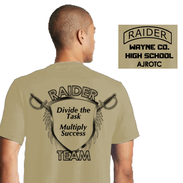Raider Team Shirts