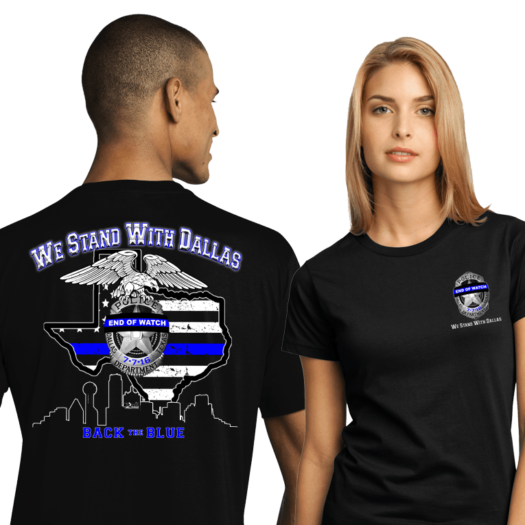 We Stand With Dallas (SST-BTBTX) Sold Separately