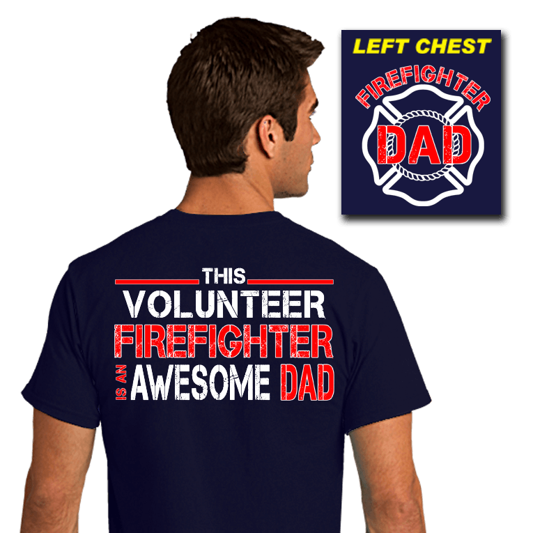 Awesome Firefighter Dad (SST-FAWE)