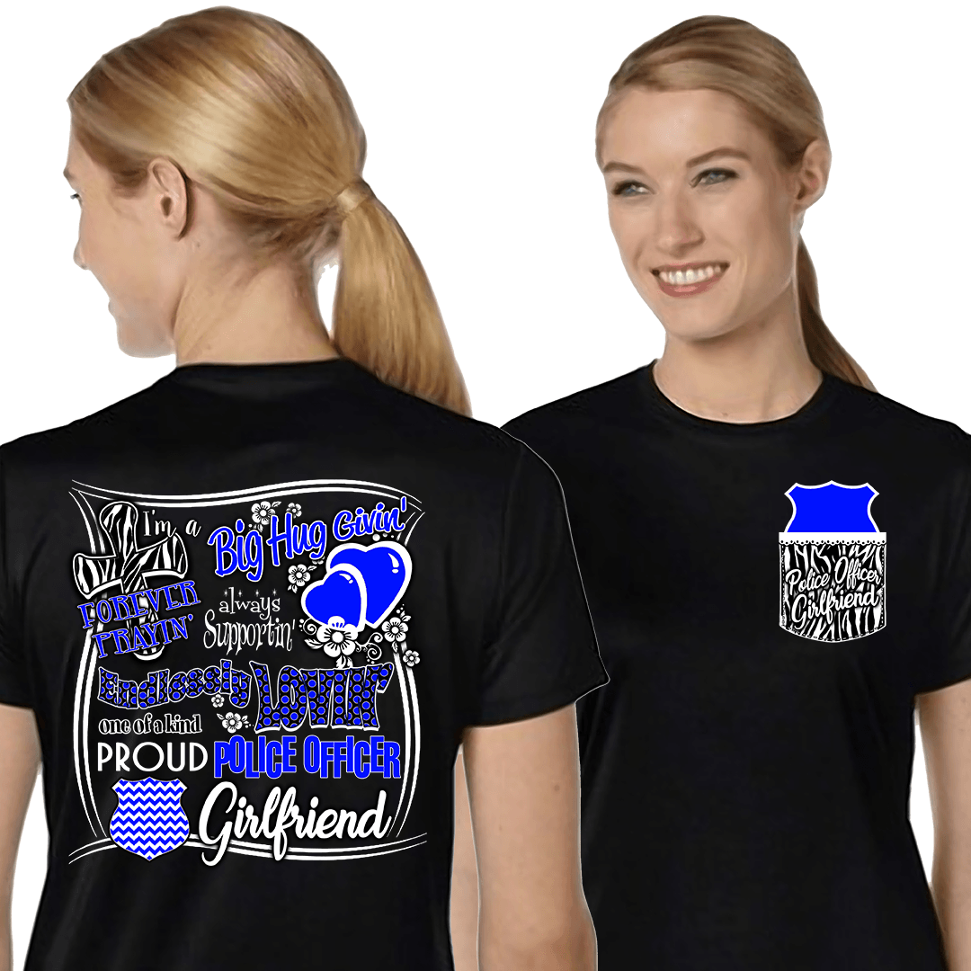 Police Officer Girlfriend, Mothers Day, Special Occasions, dovedesigns.com, Dove Designst-shirts, shirts, hoodies, tee shirts, t-shirt, shirts