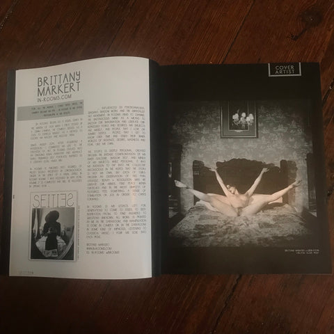 Signed Copy Seities Magazine Issue Interior