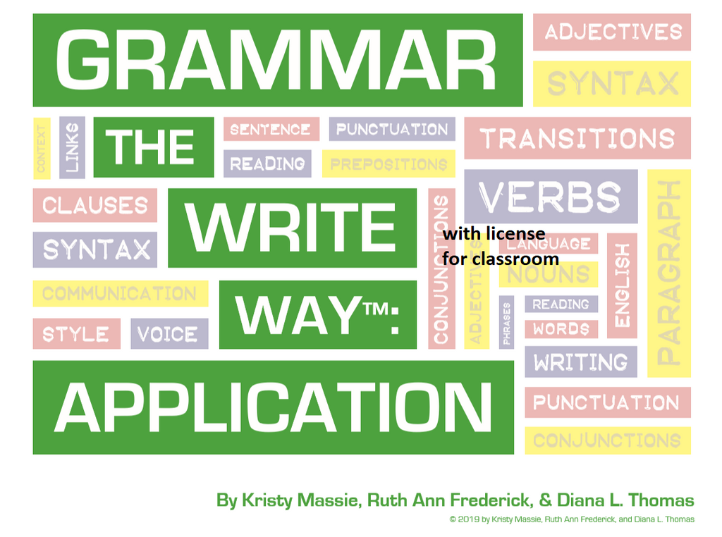 Grammar the Write Way: Application for Classroom Use