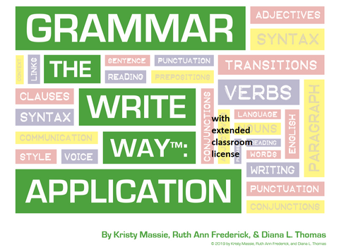 Grammar the Write Way: Application - Extended License for Classroom Use