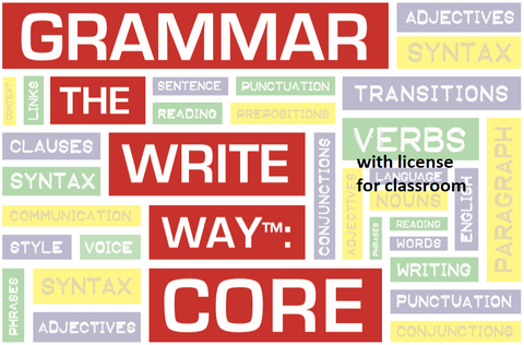 Grammar the Write Way: Core for Classroom Use