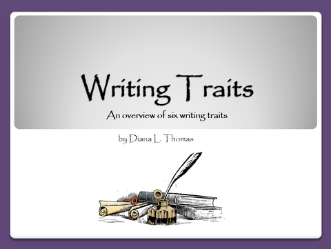 Writing Traits - Overview