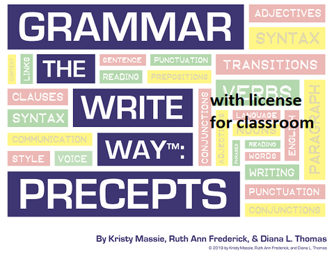 Grammar the Write Way: Precepts for Classroom Use