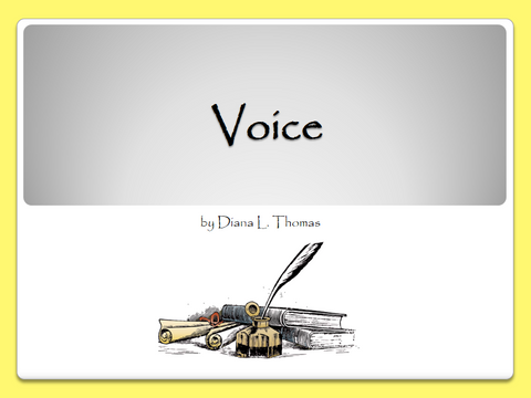 Writing Traits: Voice