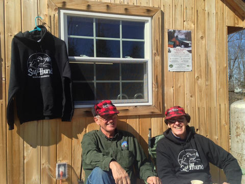 Picture of the Dads the last Maine Maple Sunday