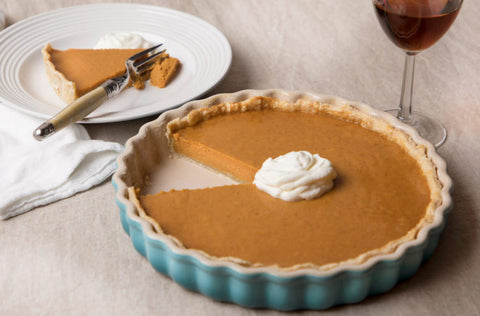Maple Whiskey Pumpkin Pie