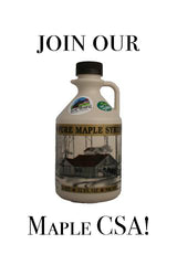 Join our maple CSA!