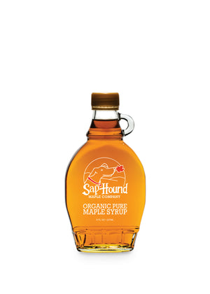 Glass 8 oz Organic Maple Syrup