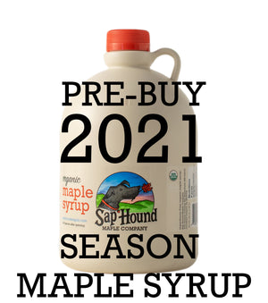 Pre-buy 2021 Season Maple Syrup