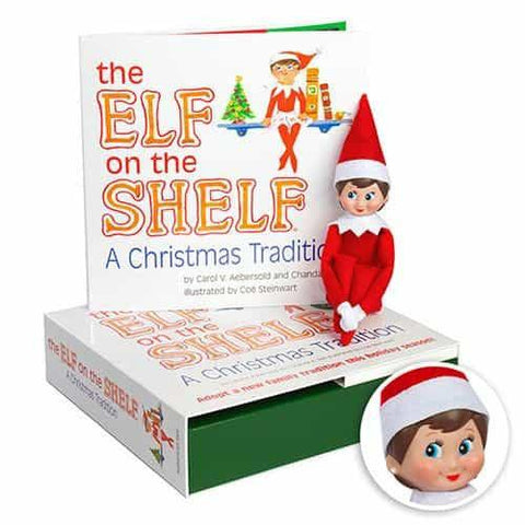 The Elf on the Shelf: A Christmas Tradition (includes girl Scout Elf w/ light skin)