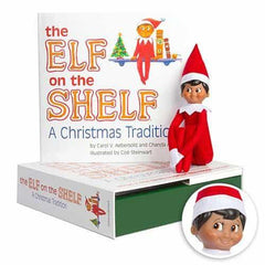 The Elf on the Shelf: A Christmas Tradition (includes boy Scout Elf w/ dark skin)