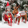 The Elf on the Shelf - Claus Couture Polar Pattern Set