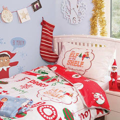 The Elf on The Shelf Bedding Set - Single
