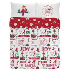 The Elf on The Shelf Bedding Set - Double