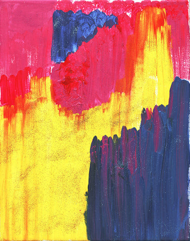 Abstract Colorful Kingdom Giclee Print, Colorful Art, Abstract art