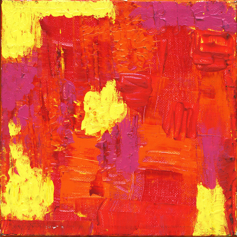 Abstract Fire Giclee Print