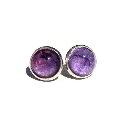 LAVENDAR Watercolor Studs
