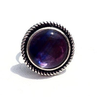 RADIANT ORCHID Tonal Watercolor Ring