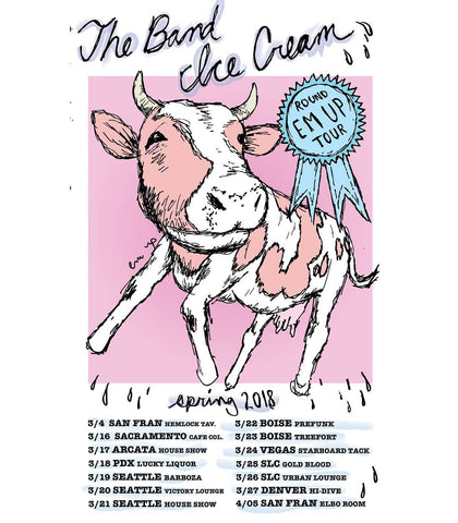 Urban Scandal Records | The Band Ice Cream: Spring 2018 Tour