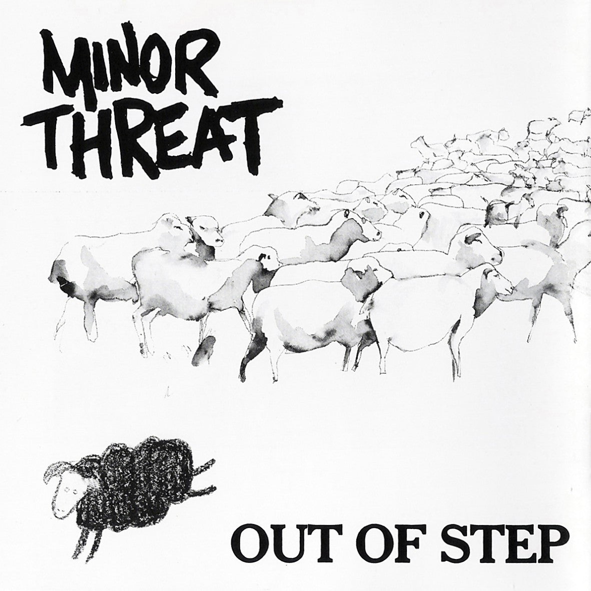 Urban Scandal Records | Minor Threat: Out Of Step - Vinyl