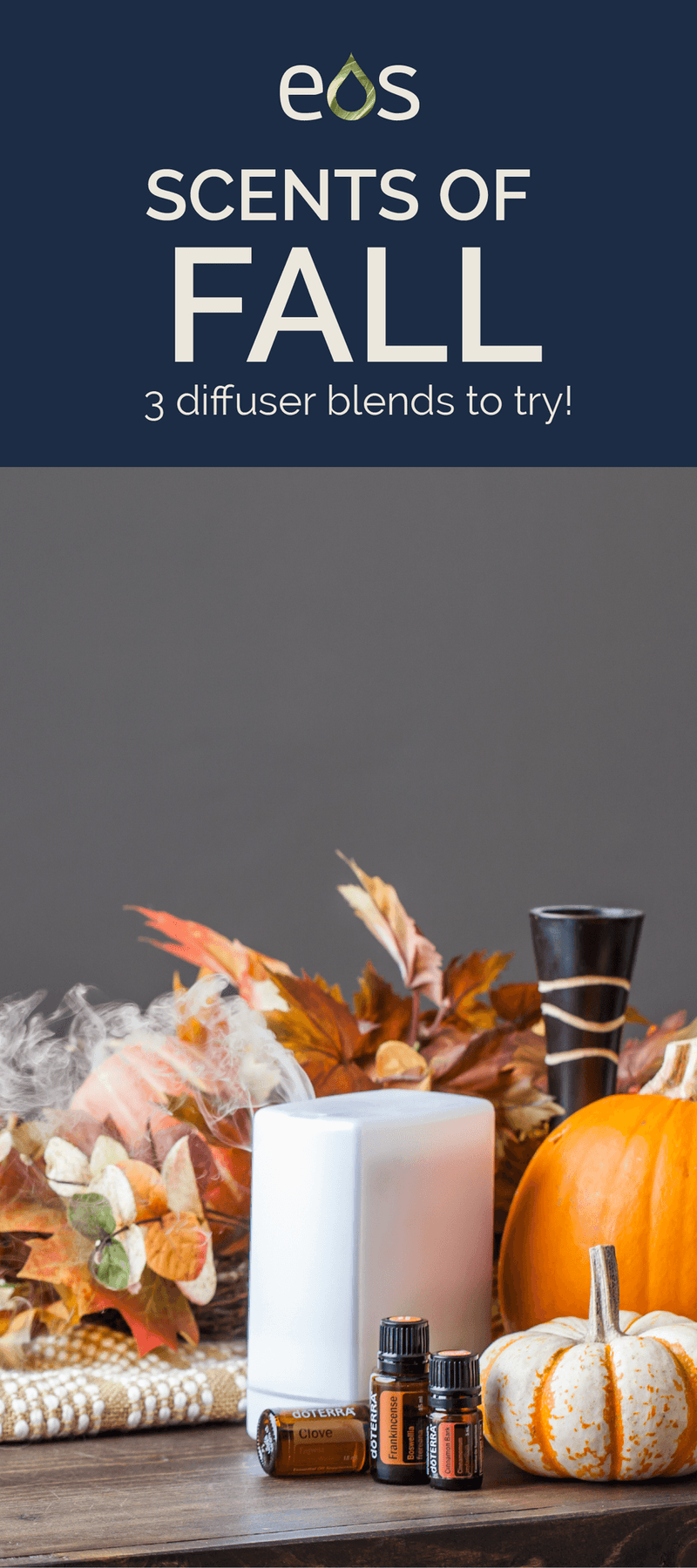 Smells Like Fall! 3 Diffuser Blends to Try