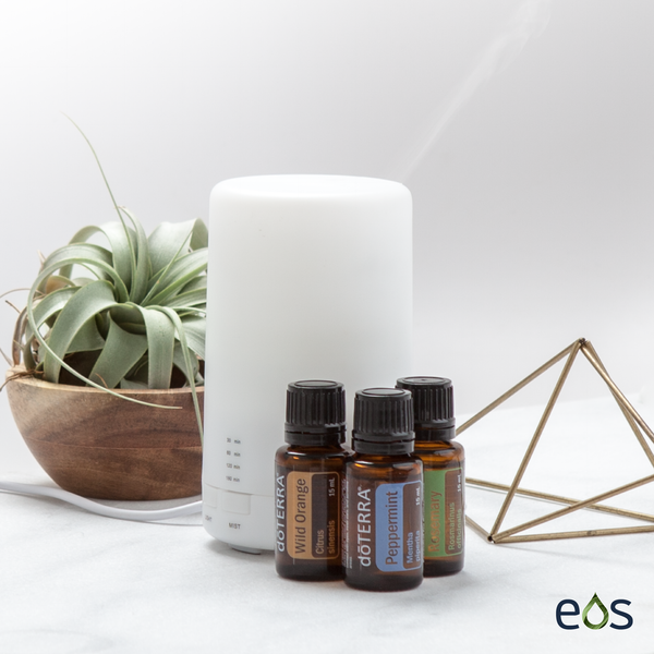 Atomizing USB Travel Diffuser Essential Oil Diffuser Blend
