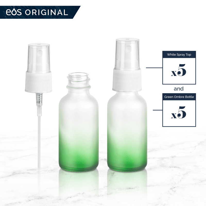 EOS 1 oz Collection (Pack of 5) Containers eos.life - eos - Easy Oil Solutions - doterra - essential oils