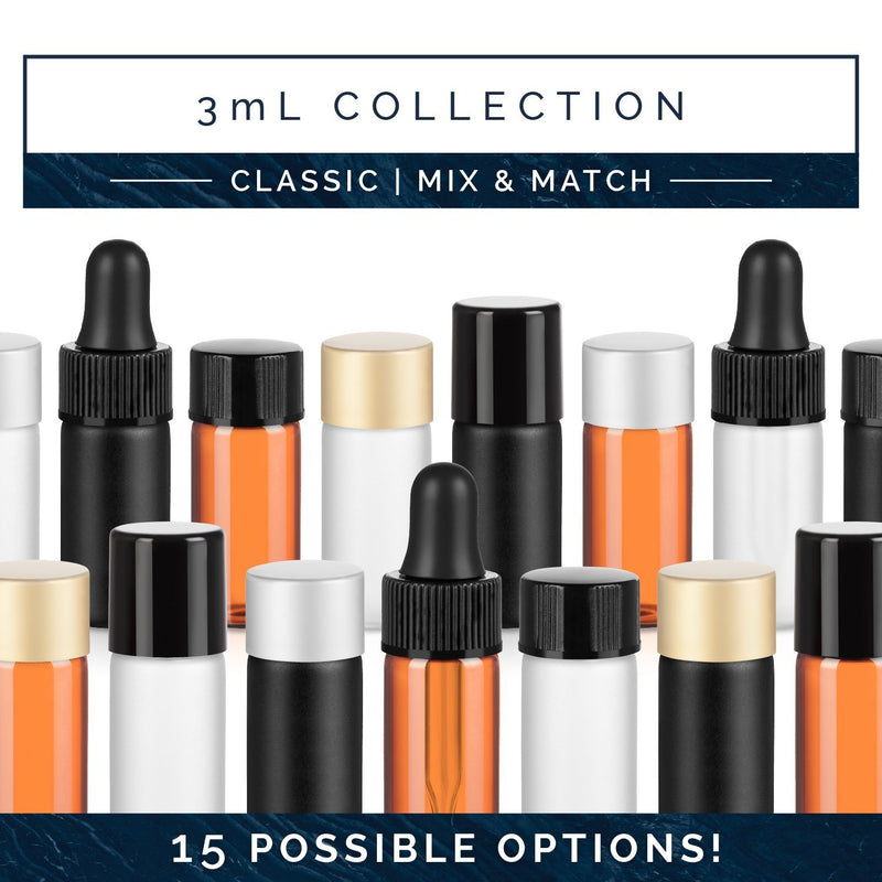 3 mL Classic Collection (Pack of 12) Containers eos - Easy Oil Solutions