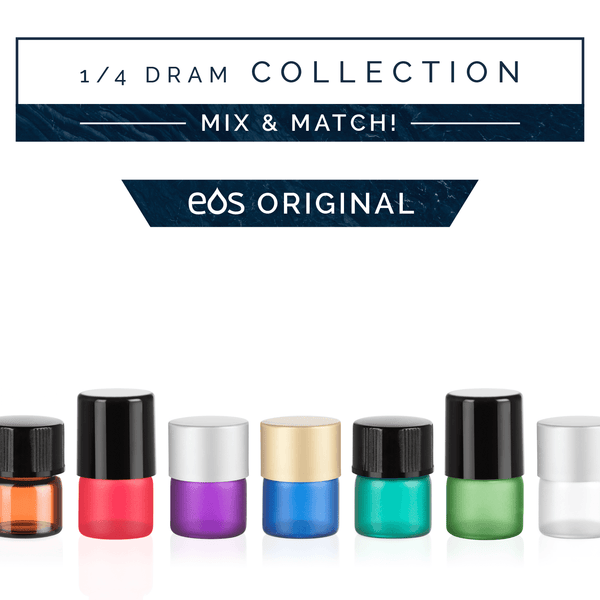 EOS 1/4 Dram Sample Collection (Pack of 36) Containers eos - Easy Oil Solutions - eos - Easy Oil Solutions - doterra - essential oils