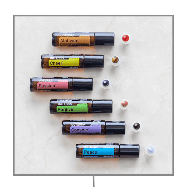dōTERRA Emotional Aromatherapy Luxury Gemstone Rollerball Set Accessories Whimsy Wellness - eos - Easy Oil Solutions - doterra - essential oils