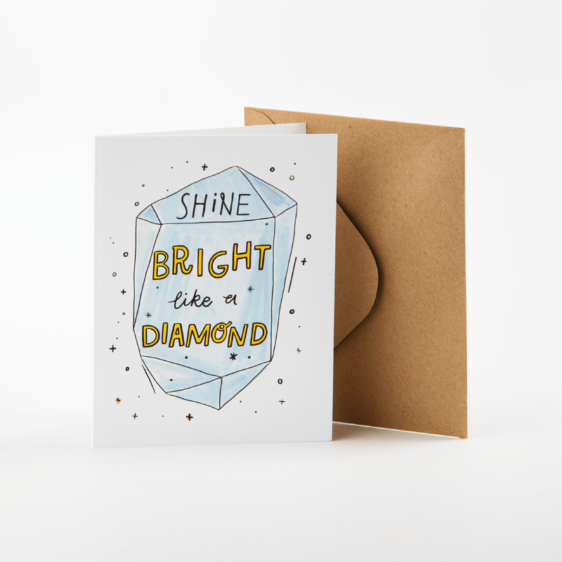 Rank Cards Tools 'Everything But Oils' Diamond - Shine Bright Like A Diamond